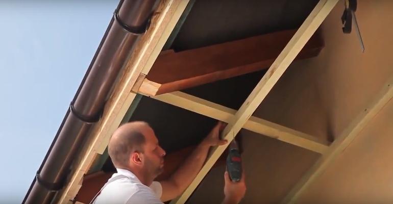Как сделать карниз крыши своими руками фото 29