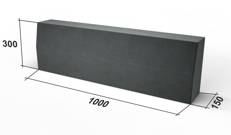 Стандартные размеры бордюрного камня безбалочное монолитная плита перекрытия