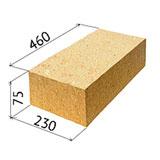 Размер кирпича красного : толщина строительного