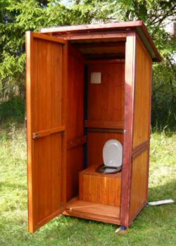 Туалет на даче своими руками новости
